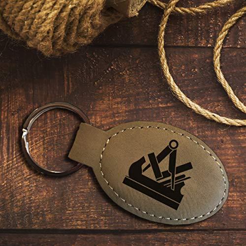 elbedruck Schlüsselanhänger Tischler mit Gravur Zunftzeichen Zunftsymbol für alle Schreiner und Holzverarbeiter Zunftwappen (grau-beige)