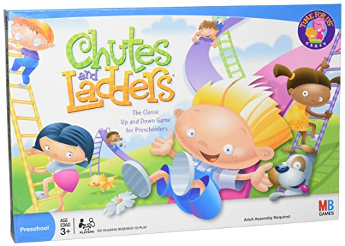 Chutes and Ladders Board Game for 2 to 4 Players Kids Ages 3 and Up Amazon Exclusive