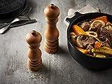 Peugeot 23737 Paris Salzmühle Holz, 5,9 x 5,9 x 22 cm, schwarz lackiert - 8