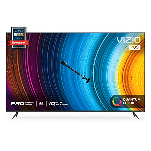 VIZIO 65-inch P-Series Quantum 4K UHD LED HDR Smart TV with Apple AirPlay and Chromecast built-in, Dolby Vision, HDR10+, HDMI 2.1, 4K@120fps, Variable Refresh Rate & AMD FreeSync Premium Gaming