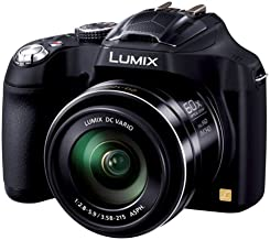 Panasonic LUMIX DMC-FZ70 16.1 MP Digital Camera with 60x Optical Image Stabilized Zoom and 3-Inch LCD (Black) - International Version (No Warranty)