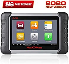 Autel MaxiCOM MK808 OBD2 Diagnostic Scan Tool with All System basic diagnostic functions and combination of Service Functions including Oil Reset, EPB, BMS, SAS, DPF, TPMS