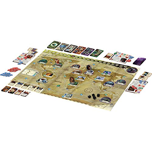 Eldritch Horror Board Game (Base Game) | Mystery Game | Strategy Game | Cooperative Board Game for Adults and Family | Ages 14+ | 1-8 Players | Avg. Playtime 2-4 Hours | Made by Fantasy Flight Games