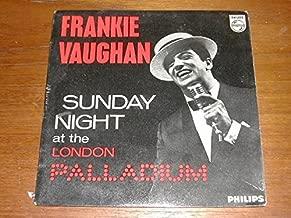 Sunday Night At The London Palladium Ep - Frankie Vaughan 7