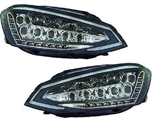 Voll LED Scheinwerfer Set TFL schwarz