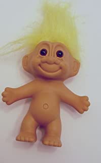 Russ Yellow Haired Troll 4.5 Inches Tall