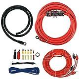 T-Spec V6-RAK4 v6 Series 4-Gauge 1,000-Watt Amp Installation Kit with RCA Cables