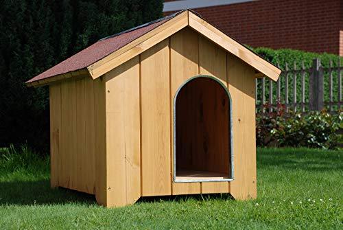 CABEX CO. S.r.l. – Cuccia per Cani in Legno Spessore 16 mm. Serie Super Dog Modello [500/03], LARICE
