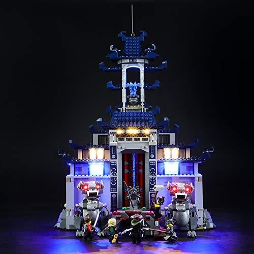 LIGHTAILING Licht-Set Für (Ninjago Movie Temple Ultimate Ultimate Weapon) Modell - LED Licht-Set Kompatibel Mit Lego 70617(Modell Nicht Enthalten)