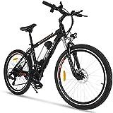 ANCHEER Electric Bike 250W/500W Ebike 26'' Electric Bicycle, 20MPH Adults Electric...