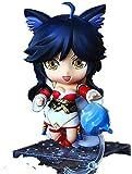 dsfew Nueva Figura De LOL Figura De Ahri Figura De AccióN Figura De Chibi, Decoraciones De Oficina Y Juguetes.