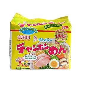 """イトメン チャンポンめん 100g 5食パック×6個"""""""