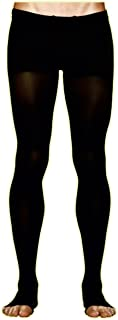 CEP Men's Recovery+Pro Compression Tights, Black, Size III