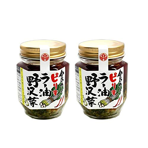 食べるピリ辛ラー油野沢菜 110g×2個セット