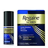 Regaine for Men Extra Strength Hair Loss & Regrowth Scalp Solution with Minoxidil