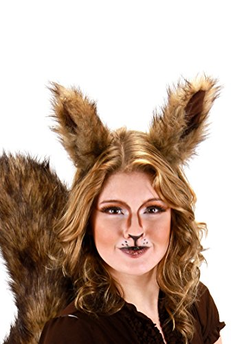elope Deluxe Oversized Squirrel Ears Headband Brown