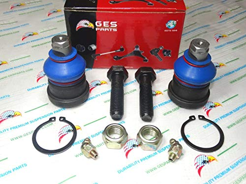 Why Should You Buy GES PARTS 91-00 Caravan Voyager Daytona 2 New Front Lower Ball Joints K7257