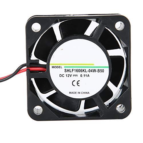 12V 0.11A 40x40x15mm Pequeño Micro Ventilador de Enfriamiento Ultra silencioso Chasis Enfriador Ventilador de 2 Pines Disipador de Calor SHLF1606KL-04W-B50