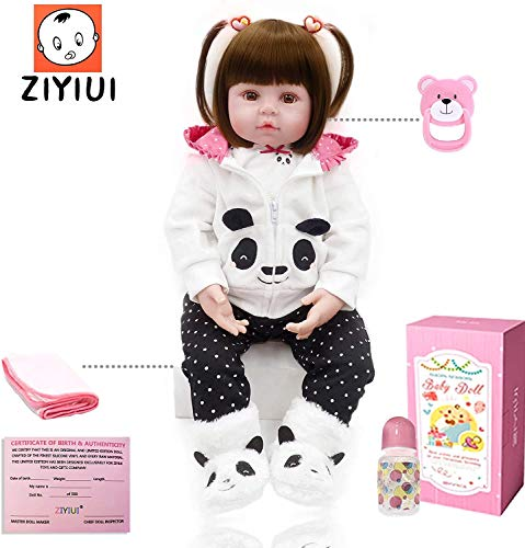 ZIYIUI Reborn dolls18pulgadas 47cm Infant Antonio Juan Muñeca renacida Muñeca de niño...