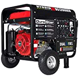 Durostar DS12000EH Portable Generator, Red/Black