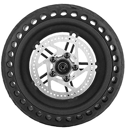 fregthf Vespa del neumático Trasero 8,5 Pulgadas Negro Nido de Abeja a Prueba de explosiones Exterior del neumático Rueda de Disco del Cubo para Xiaomi M365