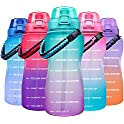 Giotto Large Half Gallon/64OZ Motivational Water Bottle