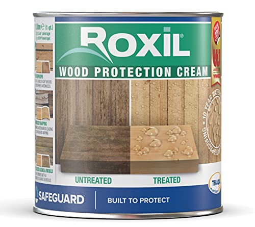 Roxil Wood Protection Cream - Instant Waterproofing Clear Treatment