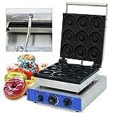 Ethedeal Electric Donut Maker - 110V 1800W Commerial Doughnut Maker Large 9cm Donut Baker Machine