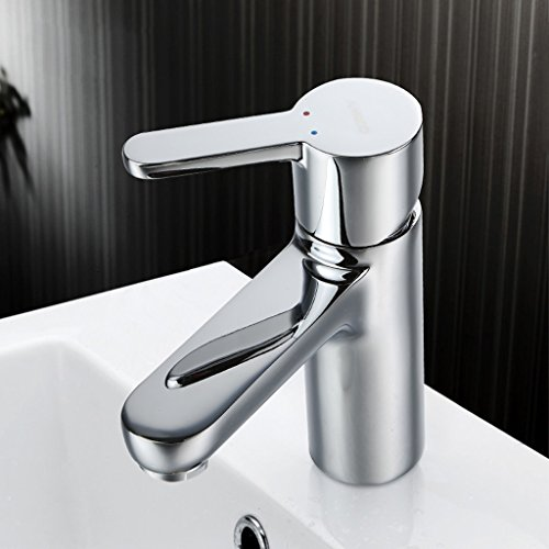 Tous Copper Hot And Cold Basin Taps mitigeur Single Hole Wash Basin eau du robinet ( taille : MD99P8 )