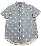 ポロラルフローレン(POLO RALPH LAUREN) スモールポニー デニム 半袖シャツ 323792767(ボーイズライン) (XL) 並行輸入品