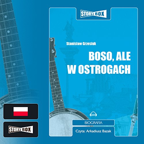 Boso ale w ostrogach audiobook cover art