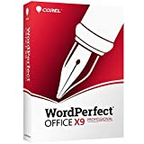 Corel WordPerfect Office X9 Pro - All in One Office Suite - Professional Edition - Upgrade [PC Disc]