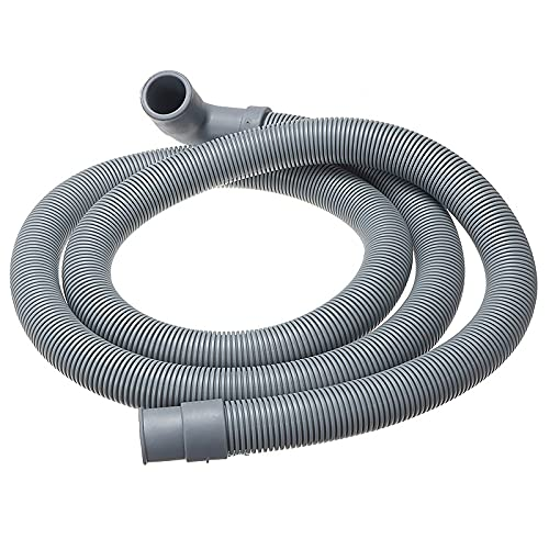 EWQK Manguera de Drenaje Lavado Flexible Máquina Lavavajillas Drenaje Outlet Outlet Tubería de Agua Extensión Plástico para Lavadora (Specification : 4 Meters)