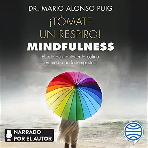 Diseño de la portada del título ¡Tómate un respiro! Mindfulness