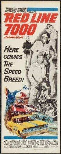 Redline 7000 14x36 Insert Movie Poster Ships Rolled in Cardboard Tube