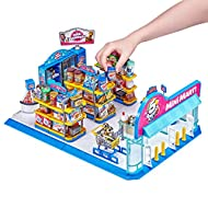 STORE & COLLECT ALL YOUR MINI BRANDS: What better way to display your collection of real mini brands than in a mini shopping world? UNBOX, BUILD & CUSTOMIZE: Build up your mini mart including store front, shelves, cash register and accessories, then ...