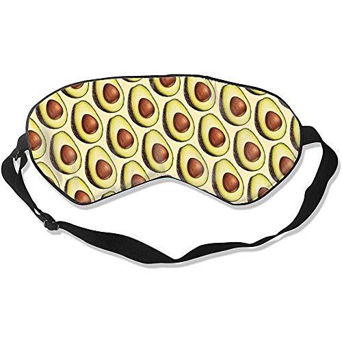 Sleep Eye Masker, grappig drukken van het avocado-patroon voor 's nachts en op reis