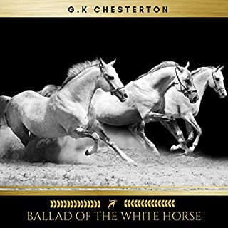 Ballad of the White Horse audiobook cover art