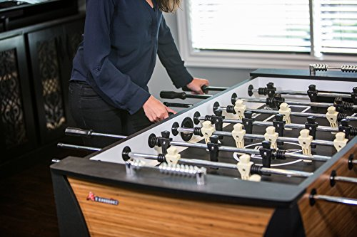 Product Image 1: Atomic Pro Force 56″ Foosball Table with Internal Ball Return and Ball Entry, Leg Levelers, and Heavy-Duty Legs