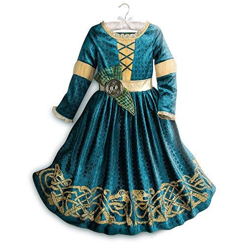 Disney Merida Costume for Kids Size 4 Green