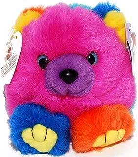 Cosmo the Rainbow Teddy Bear - St Judes - Puffkins Bean Bag Plush
