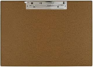 11x17 Hardboard Clipboard, 17 x 11 Inches, Brown (649461)