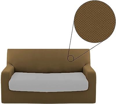 Morbidissimi Copridivano 3 posti Comfort Elasticizzato da 180 a 220 cm T723 Beige
