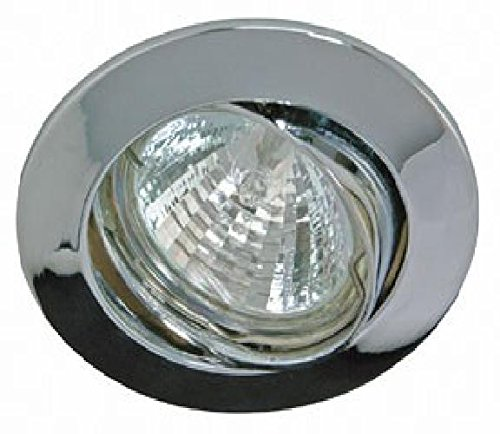 Rutec Einbaustrahler Downlight 68mm chrom ALU55354