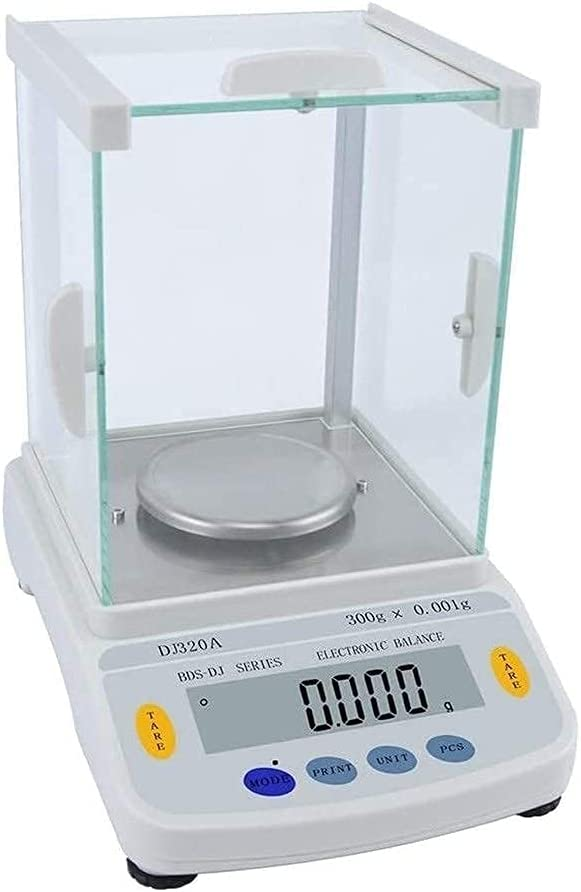 Balanza Analítica De Laboratorio De Alta Precisión 0.001G Balanza Industrial Electrónica Digital Balanza De Precisión Electrónica Portátil Pequeña Con Función De Conteo Lcd 918 (Tamaño: 320G / 0.001G)