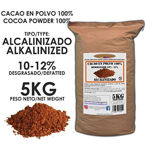 Cacao Venezuela Delta - Cacao en Polvo Puro 100{9b07d5d9ccac4cc2531065ba35dfb9246dbec43097293db973ec5b1353438974} · Alcalinizado · Desgrasado 10-12{9b07d5d9ccac4cc2531065ba35dfb9246dbec43097293db973ec5b1353438974} · 5kg