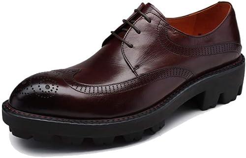 YCGCM zapatos De Los hombres, Moda, Tallado, Inglaterra, Negocios, Casual, zapatos Bajos, Puntiagudo, Encaje