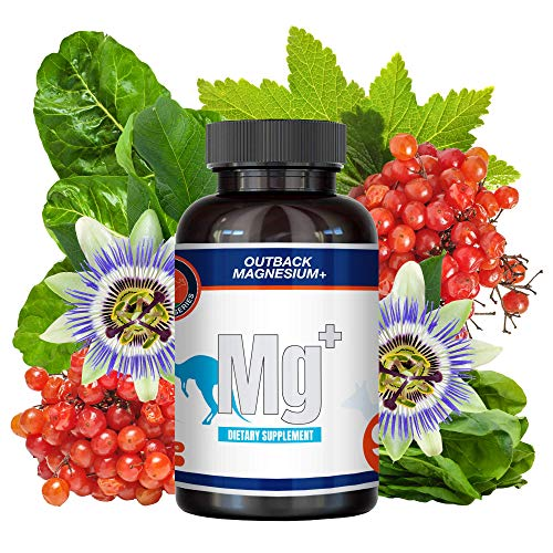 Outback Magnesium+ - Maximum Absorption Magnesium Supplement Complex - Vegan, Gluten-Free 90 Capsules