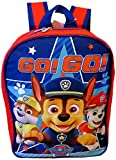 Paw Patrol Boys 15' School Backpack, Red-Blue, Size One_Size