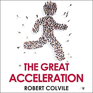The Great Acceleration audiobook cover art